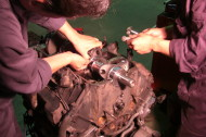 V8エンジン  オーバーホール