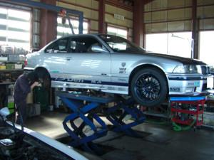 BMW M3 Defi デモカー