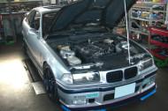 BMW M3 Defi デモカー 正面