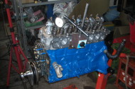 旧車エンジン  オーバーホール